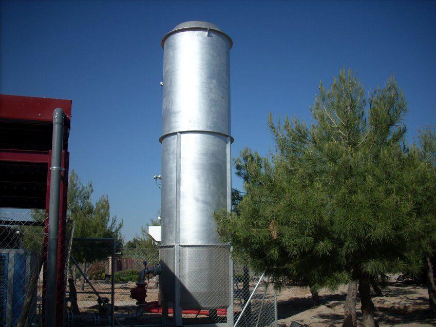 antorcha biogas alta temperatura